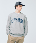 커버낫() HEAVYWEIGHT ARCH LOGO CREWNECK GRAY