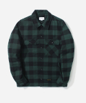 커버낫(COVERNAT) LUMBERJACK QUILTED JACKET GREEN