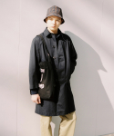 슬립워커(slwk) OVERDYED BALMACAAN COAT [BLACK]