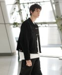 슬립워커(slwk) OVERDYED TRUCKER JACKET [BLACK]