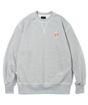 유니폼브릿지(UNIFORM BRIDGE) 50s crew neck sweat shirts grey