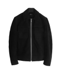 도프제이슨(DOFFJASON) Suede pocket jacket (black)
