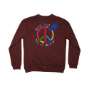 더헌드레드(THE HUNDREDS) THE HUNDREDS Peace CREW NECK [1]