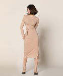 리올그(REORG) Long one-piece BEIGE