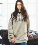 필루미네이트() UNISEX Mood Raglan Hoodie-LIGHT GREY