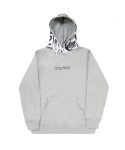 아임낫어휴먼비잉(I AM NOT A HUMAN BEING) World Wide Outcast Hoodie - Grey