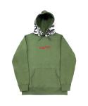 아임낫어휴먼비잉(I AM NOT A HUMAN BEING) World Wide Outcast Hoodie - Khaki