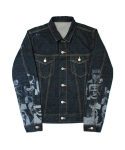 아임낫어휴먼비잉(I AM NOT A HUMAN BEING) Who R U Trucker Jacket