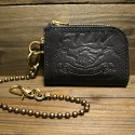 팩토리레더웍스(FTLW) FTLW ZIPPER WALLET (BLACK-SOFT)