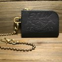 FTLW ZIPPER WALLET (BLACK)