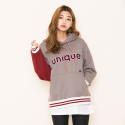 모티브스트릿(MOTIVESTREET) UNIQUE HOOD GRAY
