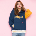 모티브스트릿(MOTIVESTREET) UNIQUE HOOD NAVY