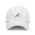 German Shepherd Dad Cap White