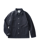 Butler HBT Coverall Jacket Navy
