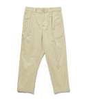 라이풀() ONE TUCK CROP PANTS cream