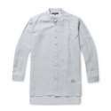 스톤페더(STONEFEATHER) [STONEFEATHER] Henley neck long shirt_FNSXM17003GYM