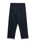 라이풀() ONE TUCK CROP PANTS navy
