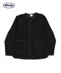 팔칠엠엠서울() [Mmlg] MERMANENT TAPING CARDIGAN (BLACK)
