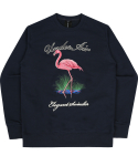 언더에어() Eye Of Blue Lake Sweat Shirt - Navy