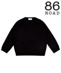 86로드() 86RJ-2711 loose basic knit _black