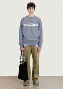 슬립워커(slwk) SLWK EYES CREWNECK [SEA GREY]