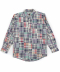 Patchwork Shirts (Madras Pink)
