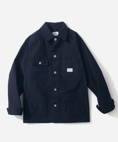 커버낫(COVERNAT) COVERALL JACKET NAVY
