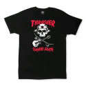 THRASHER  SKATE ROCK SKULL (BLACK)