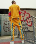 TAPING UNISEX JOGGER PANTS (Yellow)
