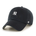 [47brand] NEW YORK YANKEES BLACK ABATE 47 CLEAN UP/MLB모자