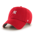 47브랜드(47 BRAND) [47brand] NEW YORK YANKEES RED ABATE 47 CLEAN UP/MLB모자