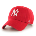 [47brand] NEW YORK YANKEES RED 47 CLEAN UP /MLB모자