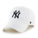 47브랜드(47 BRAND) [47brand] YANKEES WHITE 47 CLEAN UP/MLB모자