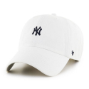 [47brand] NEW YORK YANKEES WHITE ABATE 47 CLEAN UP /MLB모자