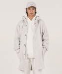 위캔더스(WKNDRS) HOODED PARKA COAT (L.GREY)