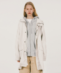 위캔더스(WKNDRS) HOODED PARKA COAT (IVORY)