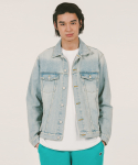 위캔더스(WKNDRS) DENIM TRUCKER JAKCET (L.DENIM)