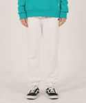 위캔더스(WKNDRS) W SWEAT PANTS (IVORY)
