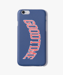 해브 어 굿 타임(HAVE A GOOD TIME) College iPhone Case - Navy