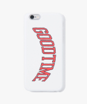 해브 어 굿 타임(HAVE A GOOD TIME) College iPhone Case - White