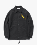 해브 어 굿 타임(HAVE A GOOD TIME) Arch Logo Coach Jacket - Black