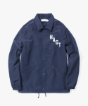 해브 어 굿 타임(HAVE A GOOD TIME) Arch Logo Coach Jacket - Navy