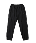인사일런스(INSILENCE) Piped Jogger Pants (Black)
