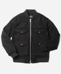 CRUSIER BLOUSON JACKET _ BLACK