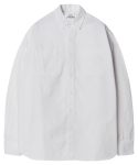 모디파이드() M#1239 basic form 2 pocket shirt (white)