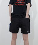스텝온리(STAFFONLY) PAINT PANTS (BLACK)