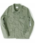 아웃스탠딩(OUTSTANDING) JUNGLE FATIGUE FIELD JACKET [OLIVE GREEN]