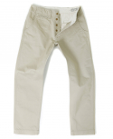 아웃스탠딩(OUTSTANDING) MILITARY OFFICER CHINO PANTS[BEIGE]