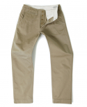 아웃스탠딩(OUTSTANDING) MILITARY OFFICER CHINO PANTS[KHAKI]