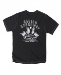 아웃스탠딩(OUTSTANDING) B-TYPE ALVISO SPEEDWAY MOTORCYCLE TEE[WHITE STICH]